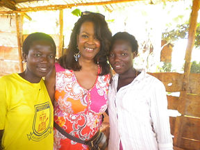 Esther with Tope of Hope Teenagers at Pa