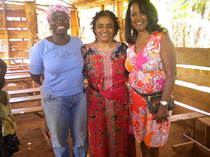 Missionairies Janet, Gail and Esther at