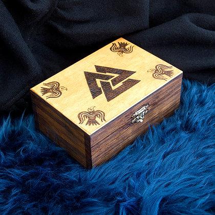 Valknut Engraved Box