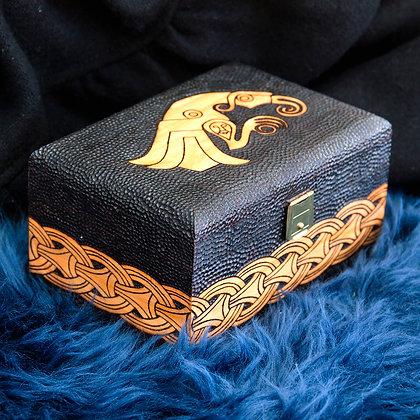 Huggin Engraved Box