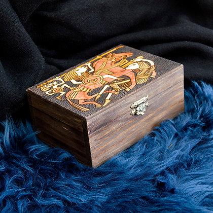 Viking Battle Engraved Box