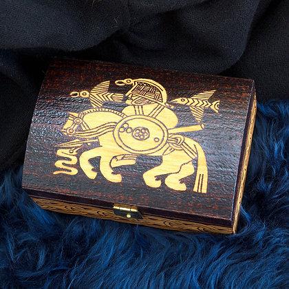 Odin Engraved Box