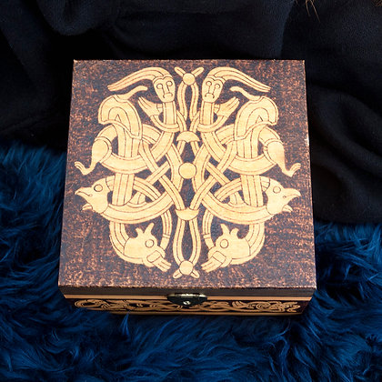 Ornamented Engraved Box
