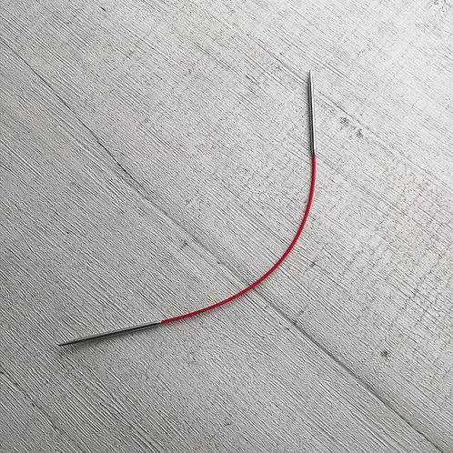Red Fixed Circular Needles by ChiaoGoo