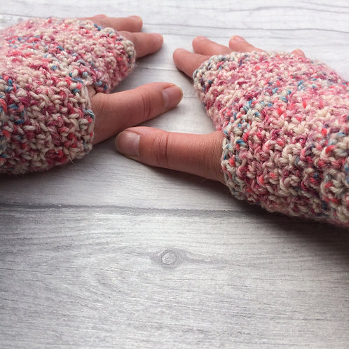 Citron Fingerless Gloves