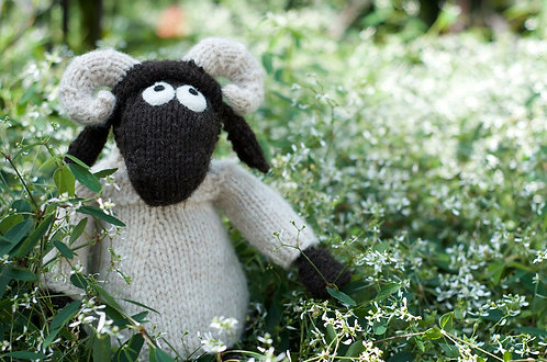 Wee Blackface Sheep 2 (in the round)