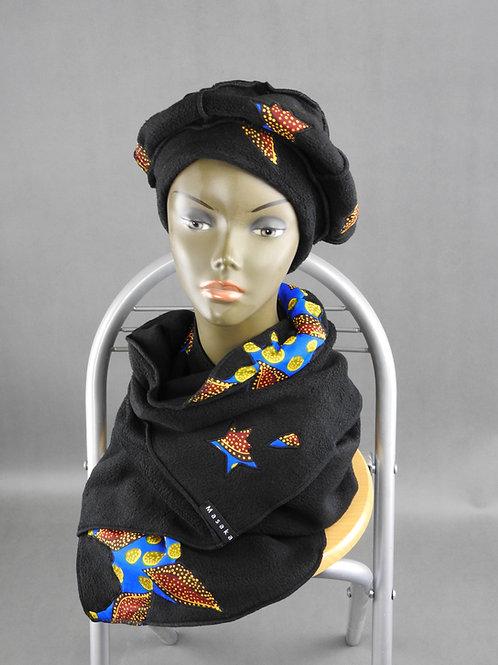 Echarpe et Bonnet noire