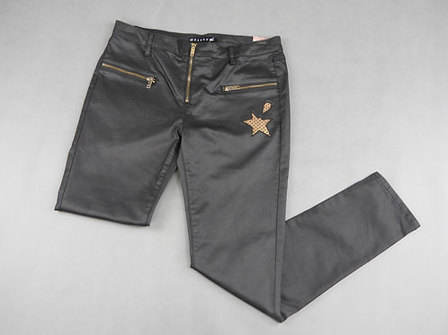 Pantalon logo points bordeaux