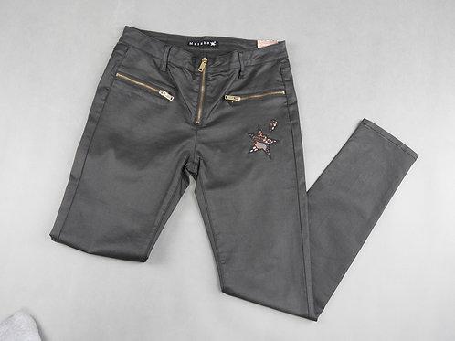 Copie de Pantalon logo brun gris