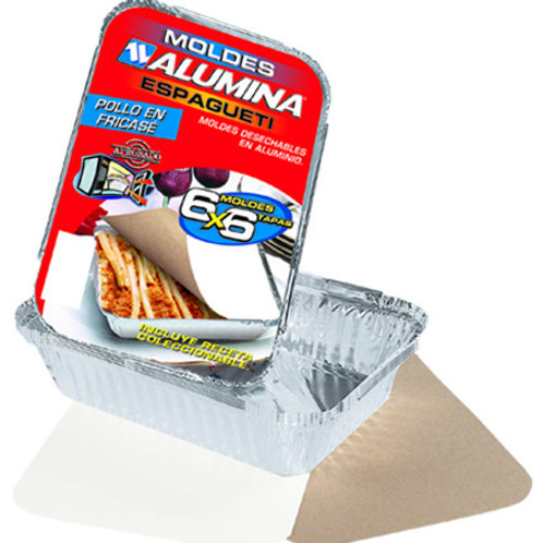 Molde Aluminio Espaqueti