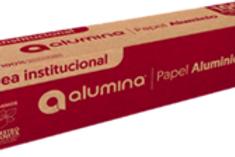 Papel Aluminio Alumina x 100mts