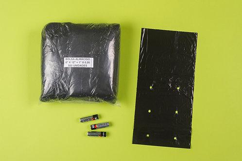 Bolsa Almácigo 6x12+1cm