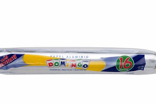 Papel Aluminio Domingo 16 Mts