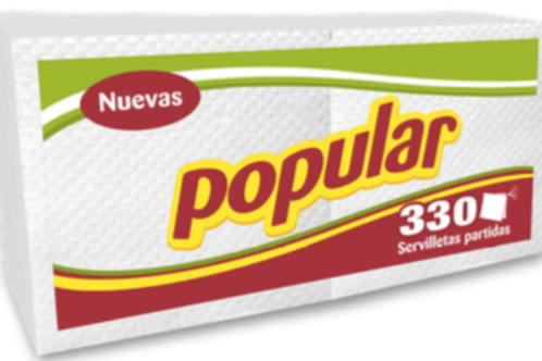Servilleta Popular x 330