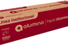 Papel Aluminio Alumina x 300mts