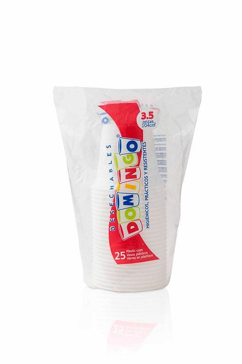 Vaso Plástico 3.5oz