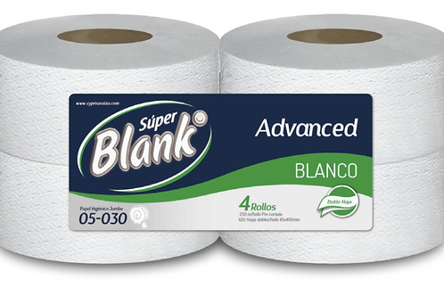 Papel Higiénico  Advanced  Blanco