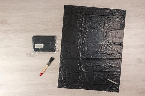 Bolsa De Basura Negra 25x35¨