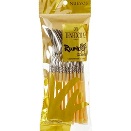 Tenedor Rumba Golden