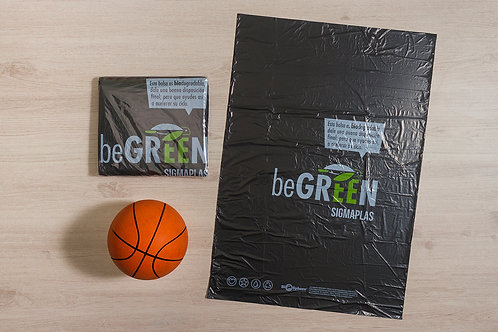 Bolsa Negra Biodegradable Gruesa