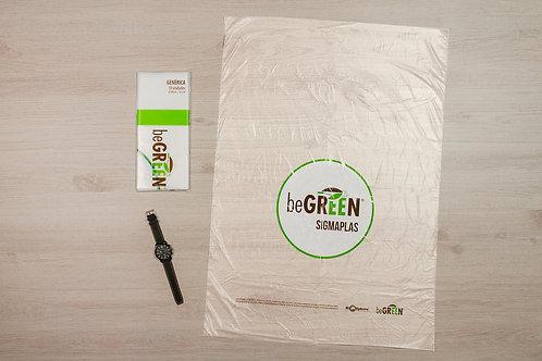 """Bolsa Transparente Biodegradable 24x34"""""""