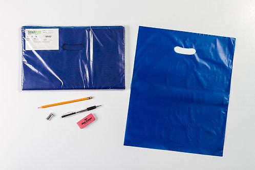 Bolsa Azul Cargadera Ovalo