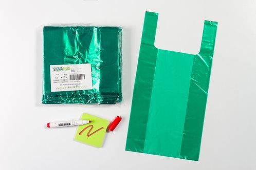 Bolsa Cargadera Verde 12x15¨