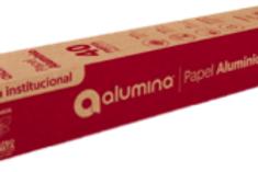 Papel Aluminio Alumina x 40mts