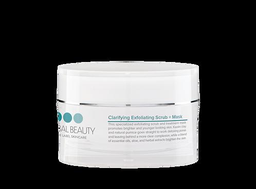 Clarifying Exfoliating Scrub + Mask