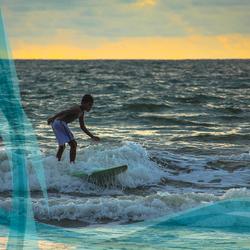 Surf en el Pacífico