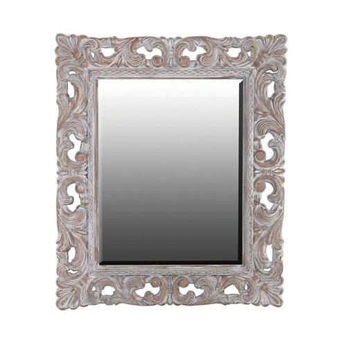 Large Ornate Rectangular Mirror