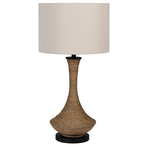 Natural Rope Table Lamp with Shade