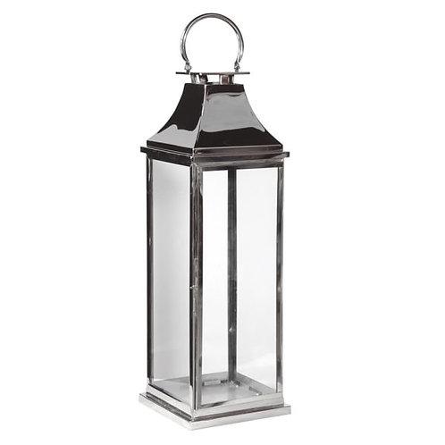 Large Chrome Standard Lantern