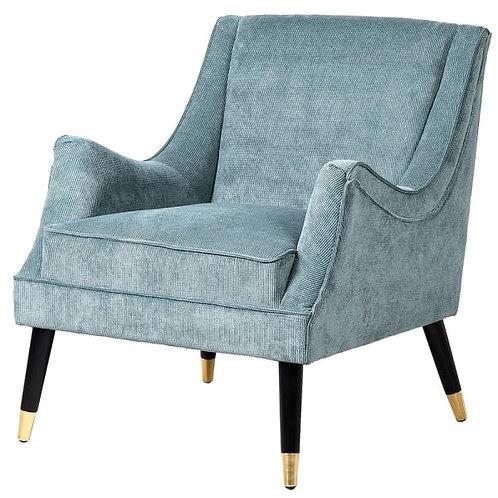 Duck Egg Blue Cord Chair