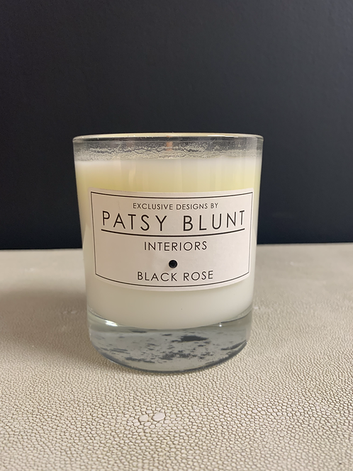 Black Rose Home Candle