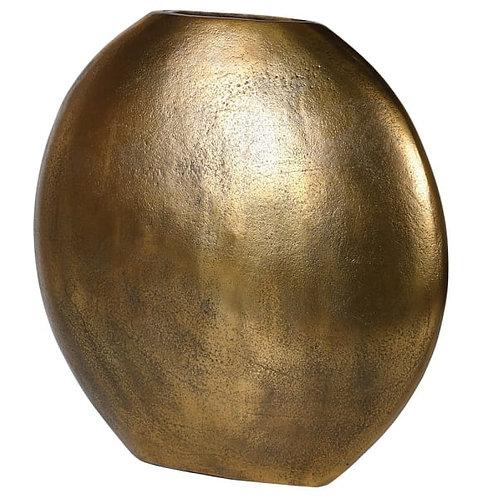 Gold Distressed Vase