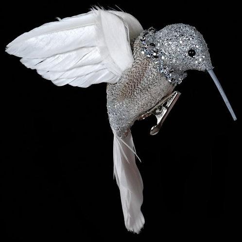 Nat.feather Silver Hummingbird