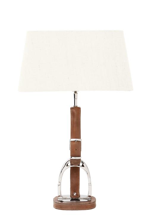 Eichholtz Equestrian Olympia Lamp Nickel Tan