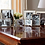 Thumbnail: WIDE BAMBOO SILVER PLATED PHOTO FRAME