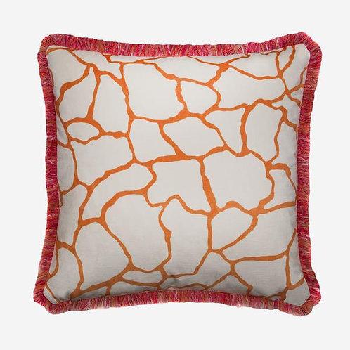 Andrew Martin Cushion -Acacia Orange