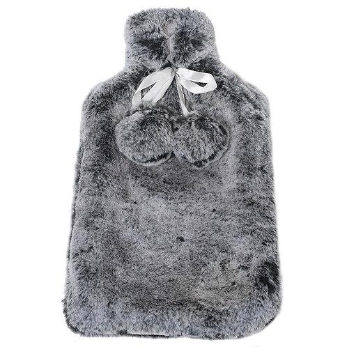 Dark Grey Hot Water Bottle Cover
