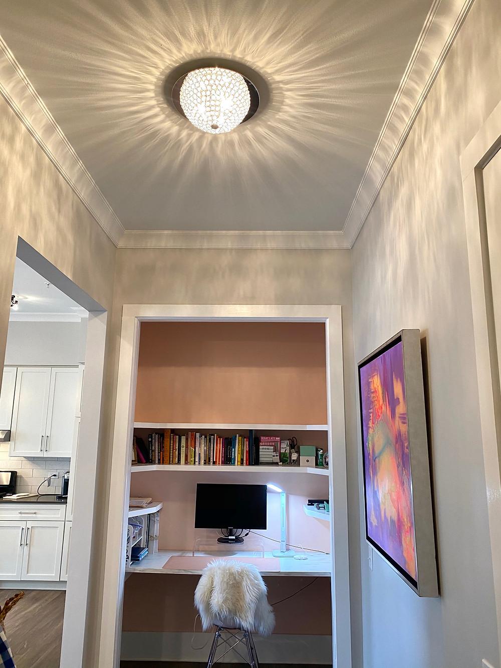 Interior Design, Apartment Style, Closet Desk