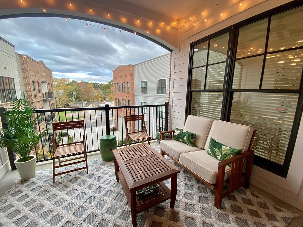 Interior Design, Apartment Style, Patio