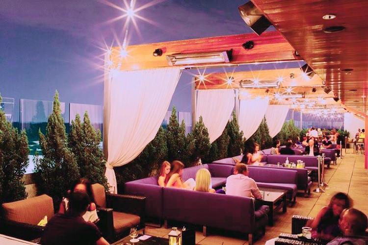 Whiskey Blue, Atlanta, W hotel, Rooftop bar