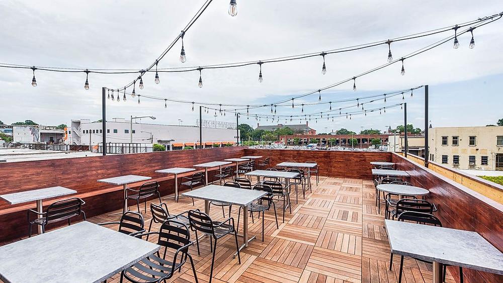 O-Ku West Midtown, Atlanta, Rooftop Bar