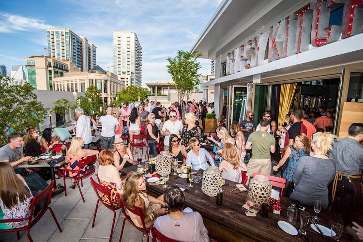 Gypsy Kitchen, Buckhead Atlanta, Rooftop Bar