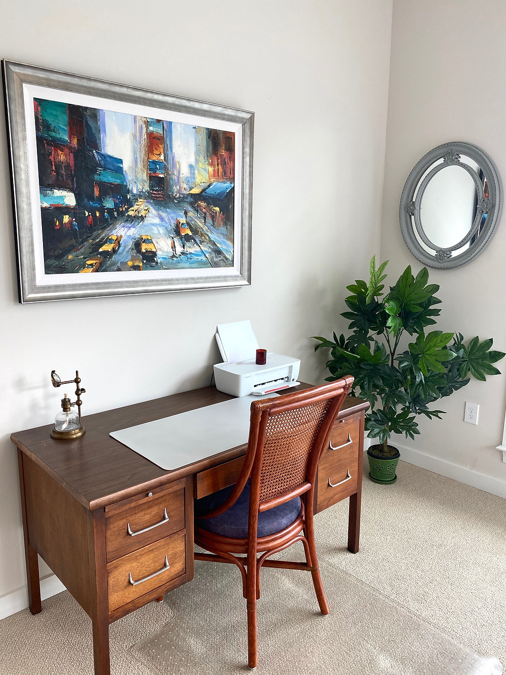 Interior Design, Apartment Style, Home Office