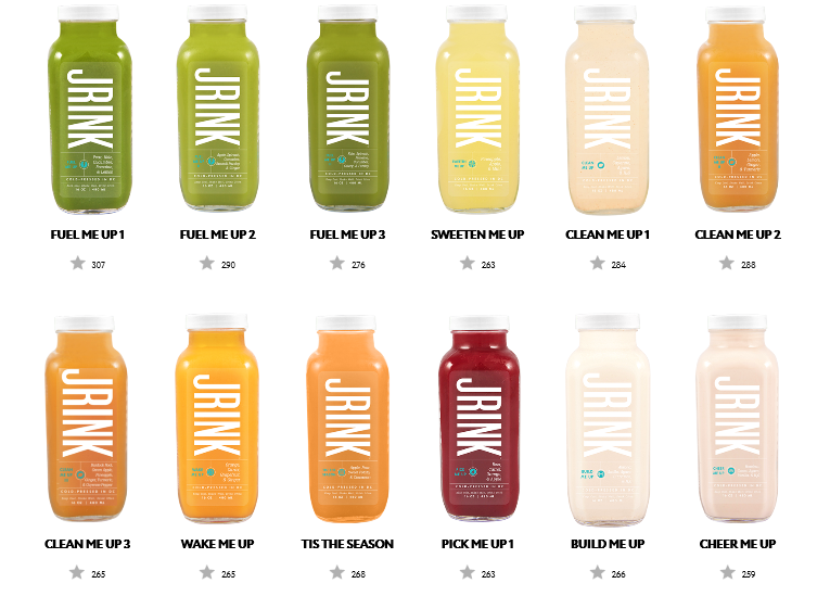 JRINK Juices, Healthy Food Washington DC