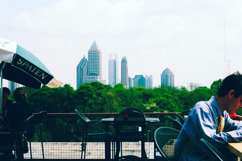Six feet under, Atlanta Rooftop Bar