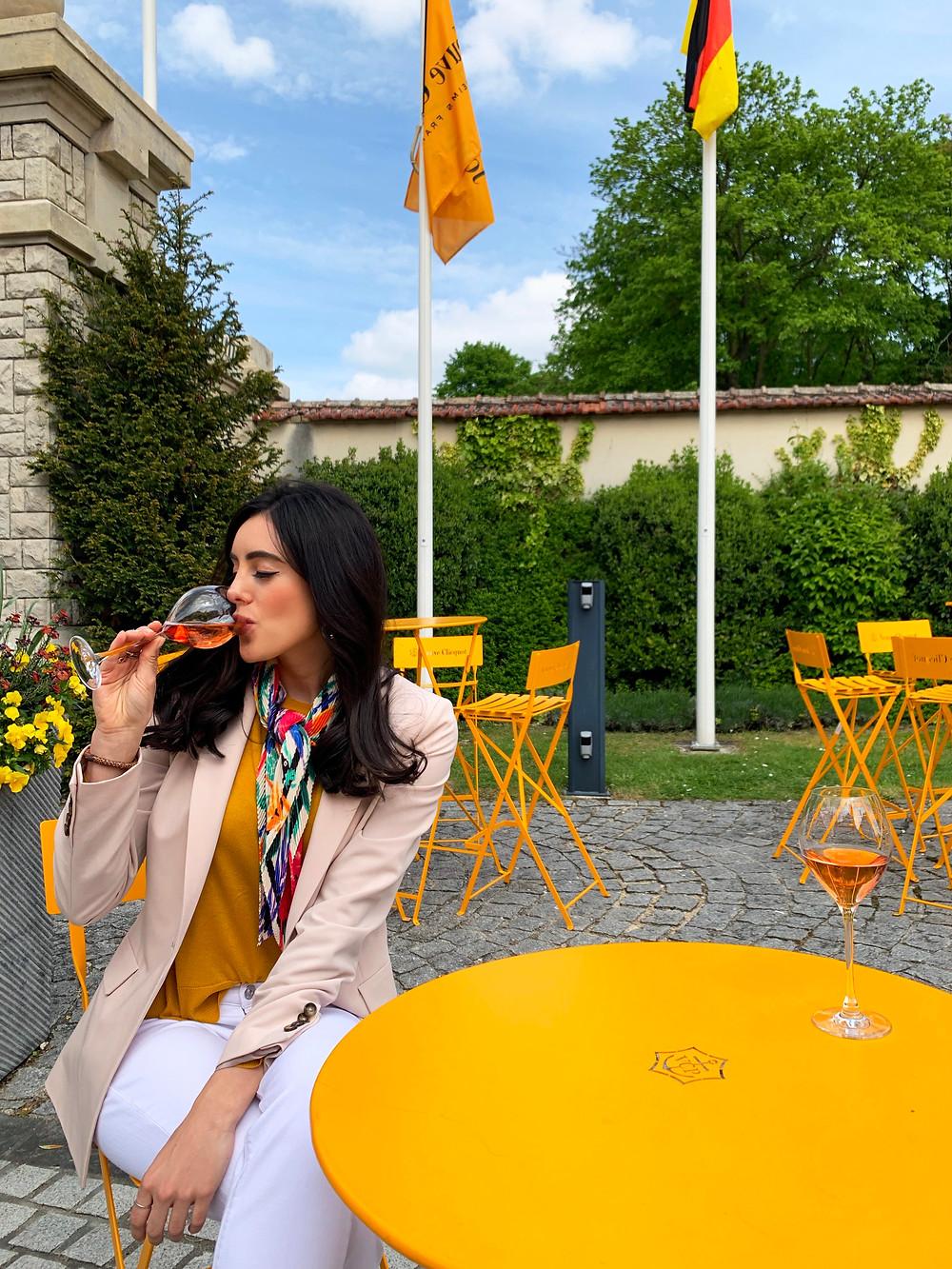 Veuve Clicquot, Reims France, Travel